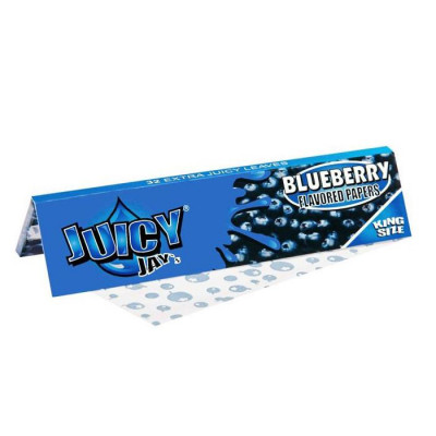 """Бумажки Juicy """"Blueberry"""" King Size"""